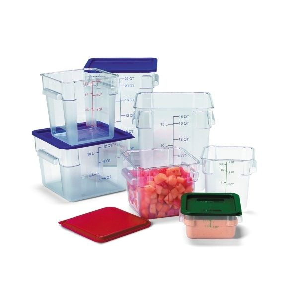 Polycarbonate storage containers and lids Factory 1st Catering