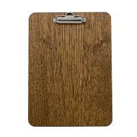 A5 Wooden Clip Board 17 5 x240 4mm Dark Oak